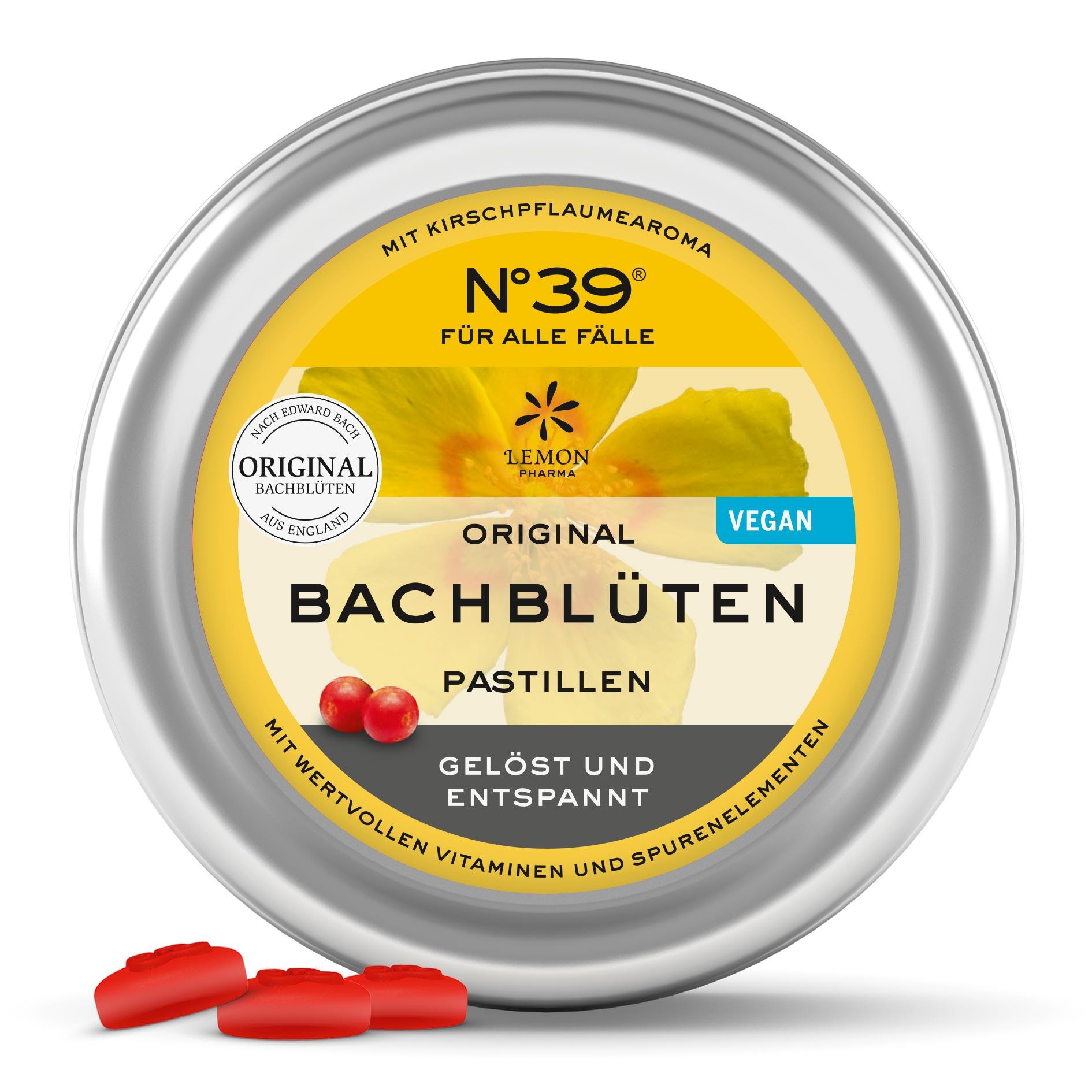 Pastillas 39 Para Todo Para Emergencias Lemon Pharma Original Flores de Bach bach flower rescue