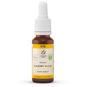 Lemon Pharma Original Bachblüten Tropfen Nr 6 Cherry Plum Kirschpflaume Gelöstheit
