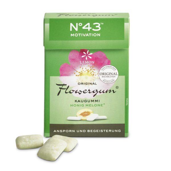 Flowergumm 43 Motivación Lemon Pharma Original Flores de Bach flowers Impulso y Entusiasmo