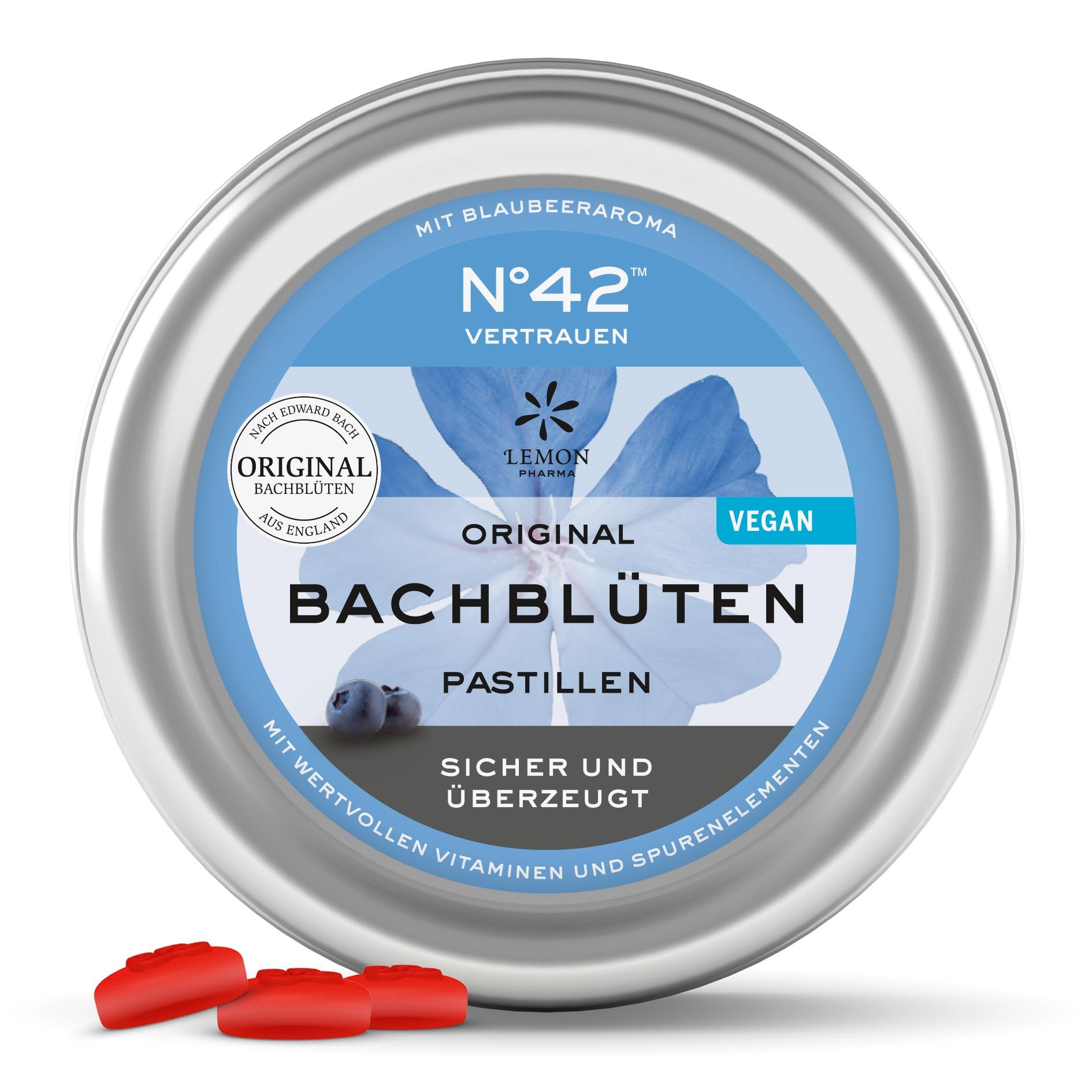 Lemon Pharma Original Bachblüten Nr 42 Vertrauen Pastillen Sicher und überzeugt Murnauers