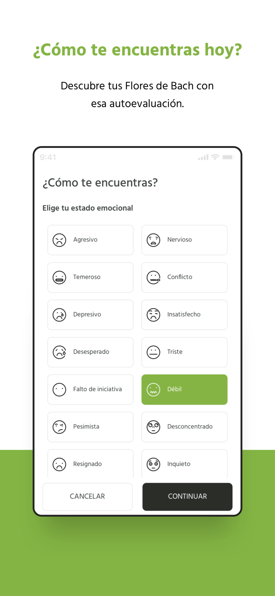 App de las flores de Bach Lemon Pharma